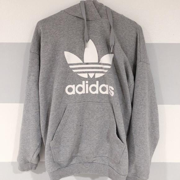 adidas sweater gray